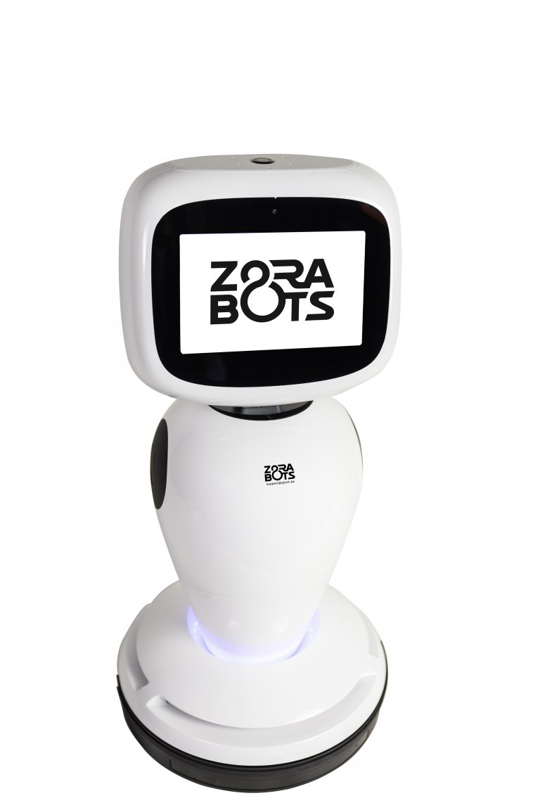 James with ZoraBots logo