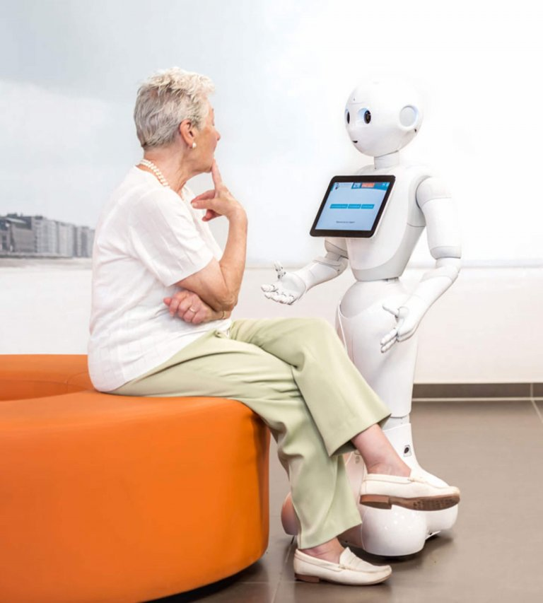 Pepper in healthcare